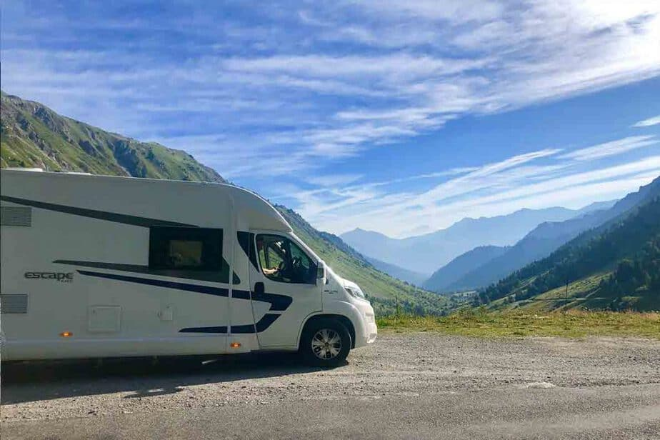 Wild Camping in France for Motorhomes and Campervans- in the French Alps