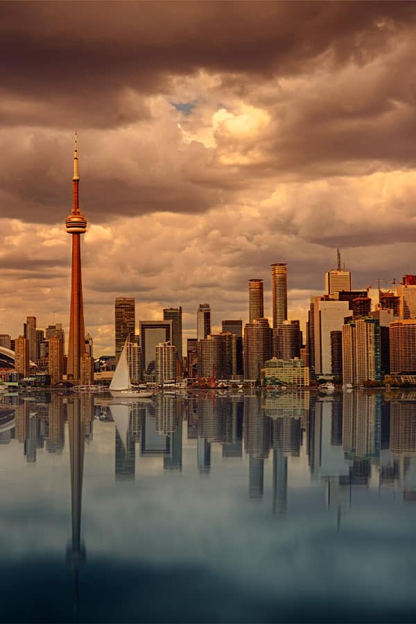 Unique Things to do in Toronto- CN Tower