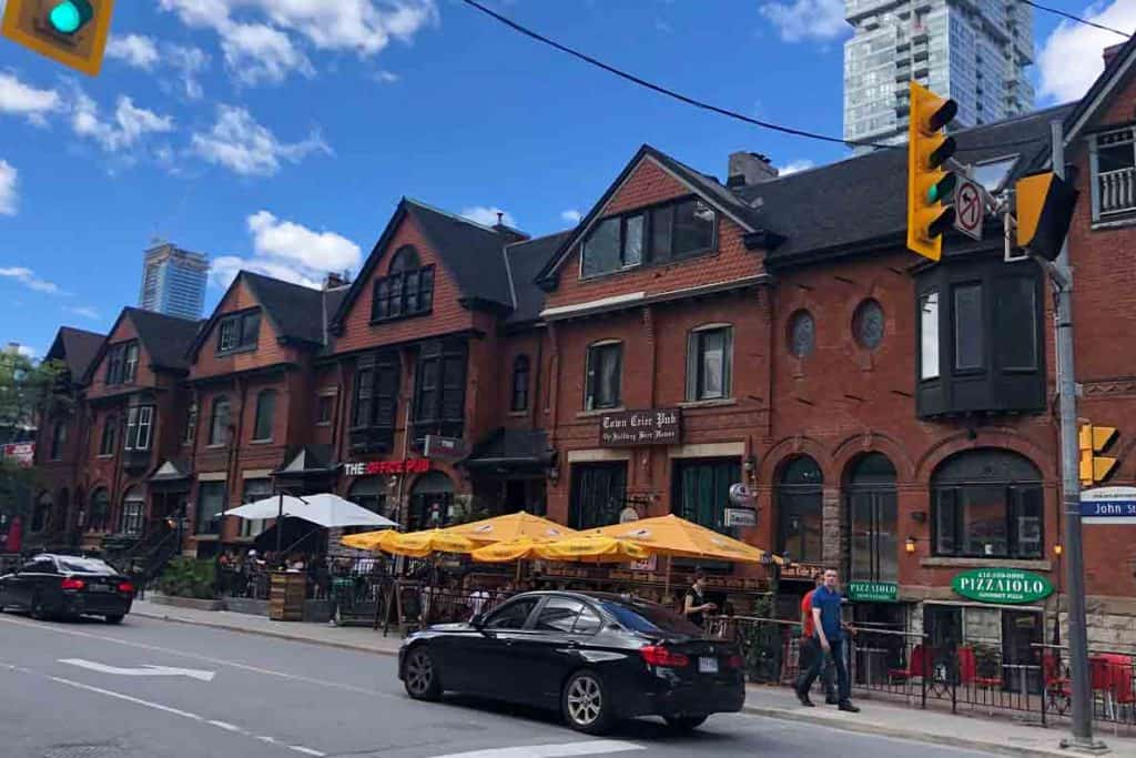 Fun things to do in Toronto- Town Crier German Pub