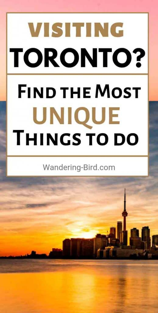 Traveling to Toronto? Looking for unique and fun things to do in this great city? Here are some of the best that you MUST NOT MISS!!