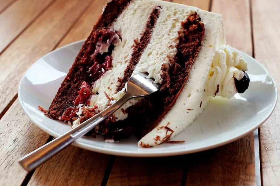 Black Forest Gateau in Germany