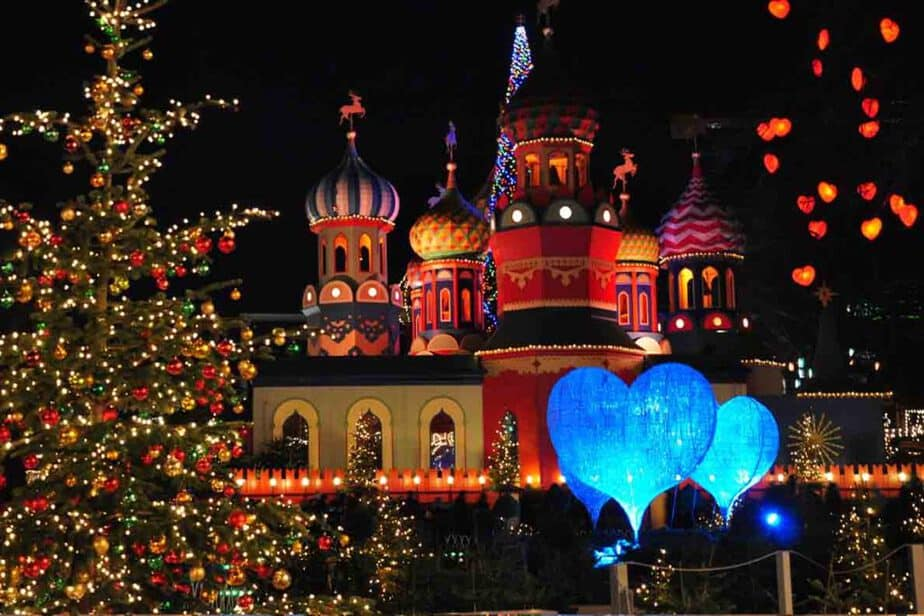 One of the best and biggest Christmas Markets in Europe- Tivoli Gardens, Copenhagen