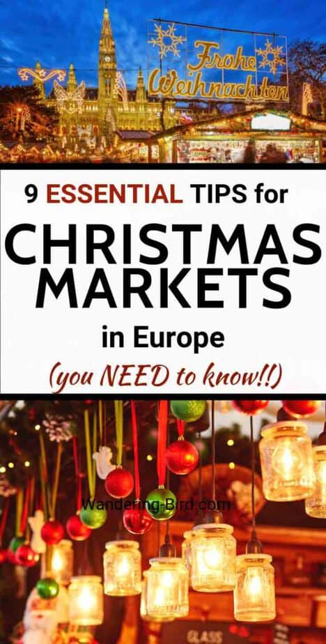 Visiting a Christmas Market this year? Whether it's a Christmas Market in Europe, the BEST Bucket list Christmas market or your local, here are some tips and tricks to get the most out of your visit. Christmas Markets in Europe | Best Christmas Market tips | Bucket list Christmas Market | Christmas Tips
