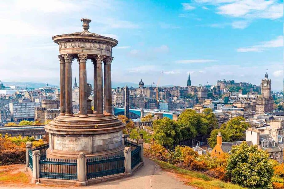 Edinburgh- one of the best cities in Europe in Autumn