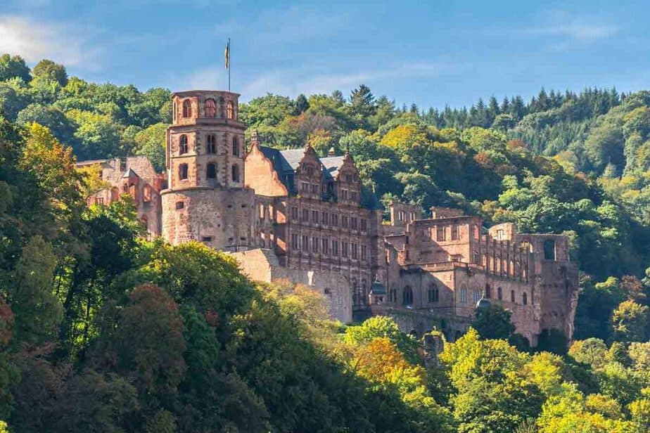 Heidelberg Castle- one of the best castles in Germany! Castles in Southern Germany you need to visit!