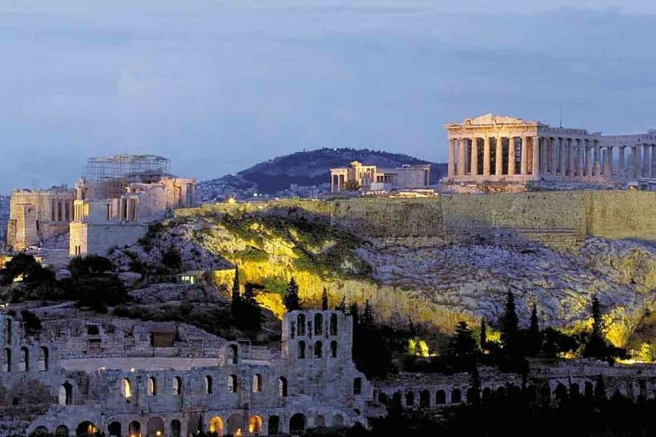 Athens, Greece- one of the best European cities in October