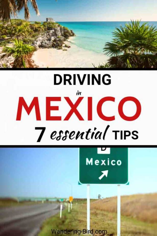 Planning a trip to Mexico? Thinking of renting a car and driving in the Yucatan- maybe to Cancun, Chichen Itza or Tulum? Driving in Mexico isn't a problem as long as you are sensible- Here are 7 essential things you need to know before renting a car and driving in Yucatan. Mexico Travel Tips