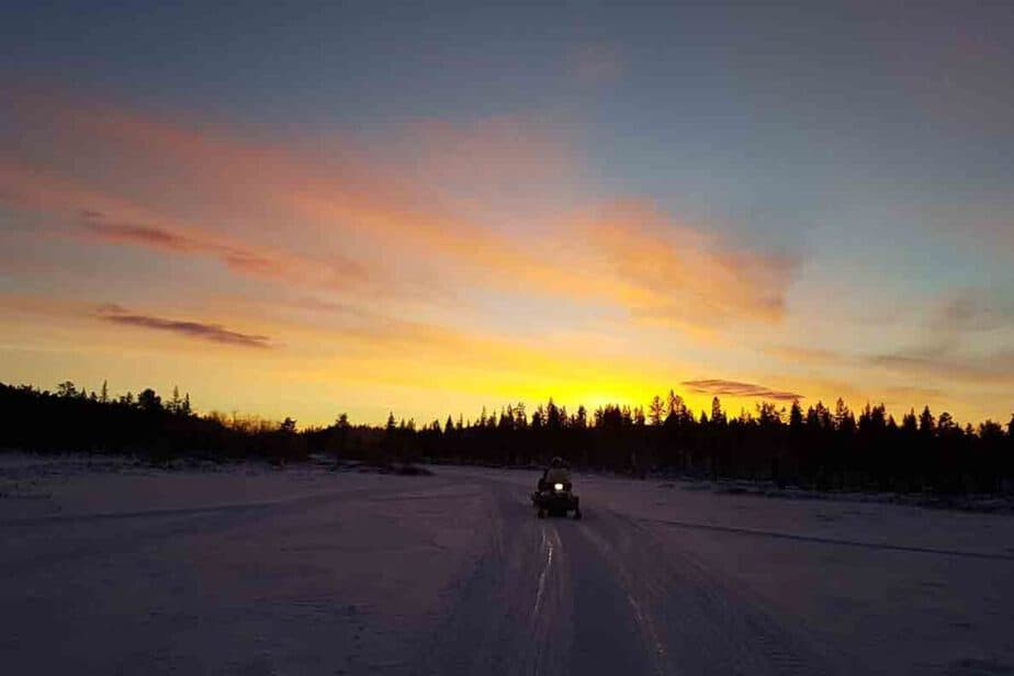 Enjoy a weekend winter city break in Kiruna, Sweden