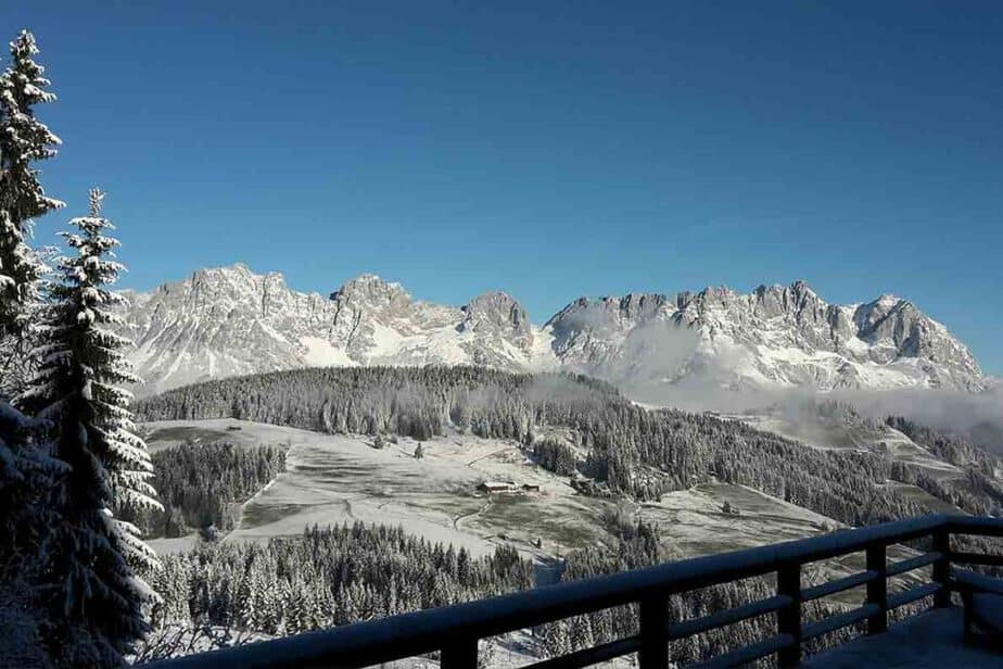 Kitzbuhel, Austria- one of the best European cities to visit in winter