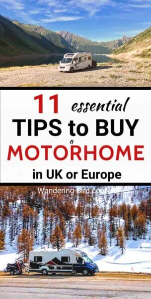Buying a motorhome? Looking at motorhomes for sale? Whether you want a used motorhome for sale or a DIY camper, here are 11 things you NEED to know and ask before you go. Motorhome Living | Motorhome Sale | Motorhome Tips | Motorhome Ideas | Motorhome hacks | Motorhome Travel | Motorhome UK | Motorhome Adventures