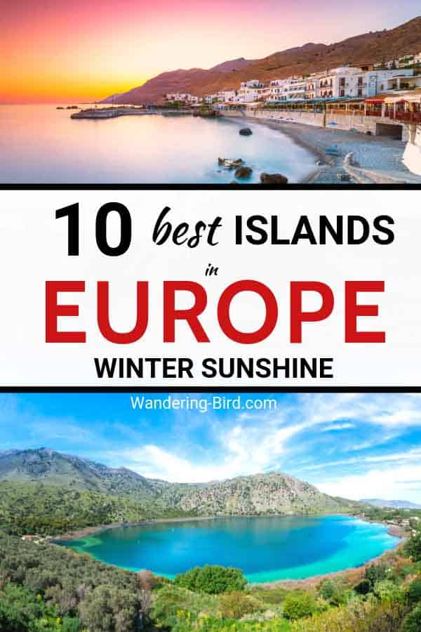 Looking for the BEST European Islands to visit in Winter? These beautiful European islands are perfect for winter sunshine and beach vacations in February. Europe Travel Destinations | Europe travel in February | Places to visit in Europe in February | Winter Europe Travel | Europe travel tips | Cheap Europe travel ideas