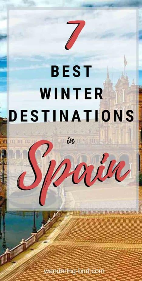Planning to visit in Spain in Winter? Looking for places to visit in Spain? Want Spain Travel tips to visit Barcelona, Valencia, Malaga, Costa del Sol or Marbella during winter? These are the warmest places in Mainland Spain during winter. Spain Travel Tips | Places to visit in Spain | Winter in Europe | Winter in Spain | Cities in Spain | Spanish destination tips | Things to do in Spain