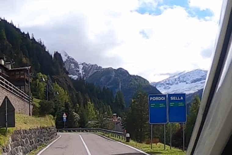 Great Dolomites Road route planner- Pordoi or Sella Pass