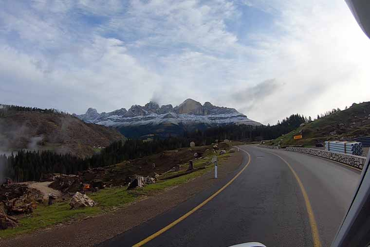 Driving the Great Dolomites Road- expect incredible mountain scenery