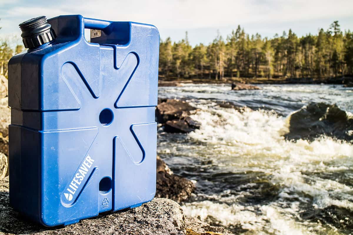 Lifesaver Jerrycan review- the best water filtrations system of overlanding, vanlife and off grid living!