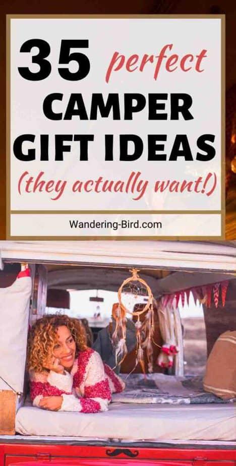 Campervan Gift Ideas for vanlife- practical, useful, funny campervan gifts