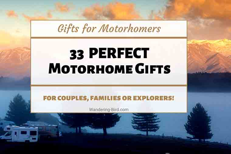 Motorhome gifts and motorhome gift ideas