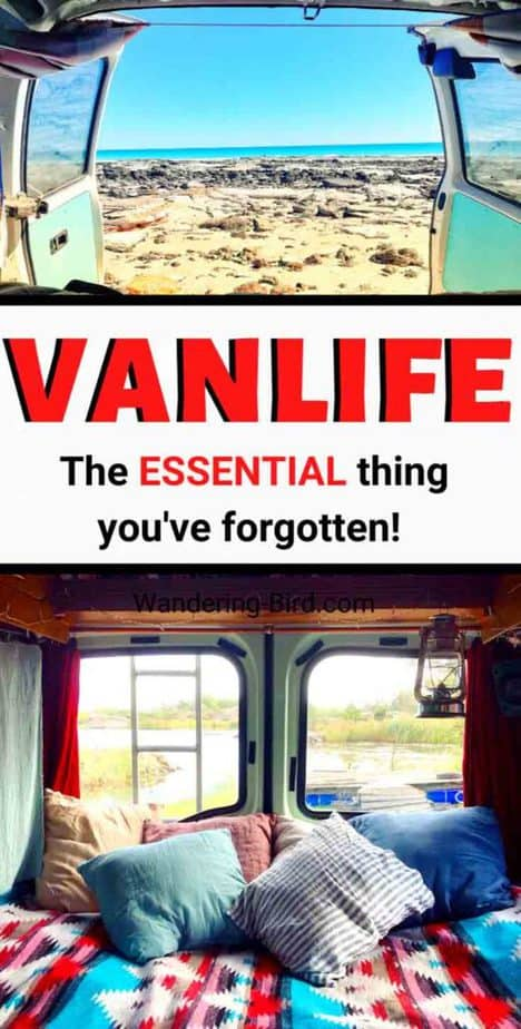 Living Vanlife? I bet you haven't thought about THIS essential thing. Don't worry- here's an easy (and quick!) solution to the problem. Happy van living! Vanlife hacks | Vanlife essentials | Vanlife tips | Van living hacks | Vanlife ideas