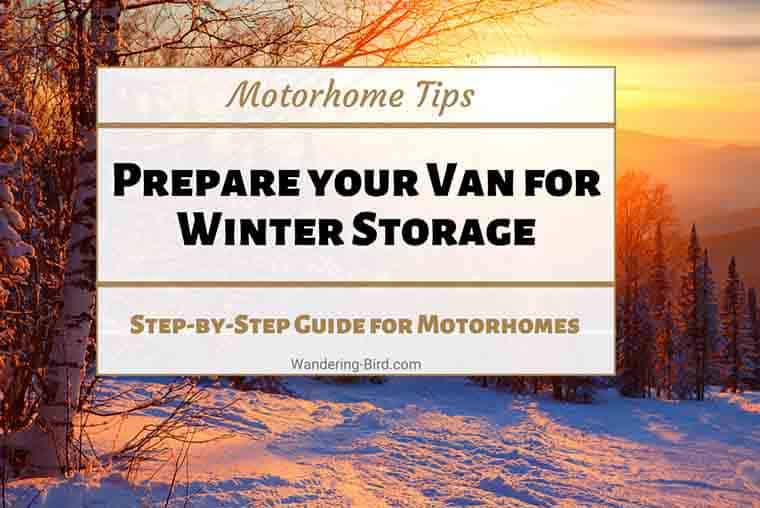 Motorhome Tips for winterizing a motorhome, camper or RV. Motorhome hacks, tips & tricks to safeguard your vehicle in winter and drain it safely. Winterizing tips for campers.