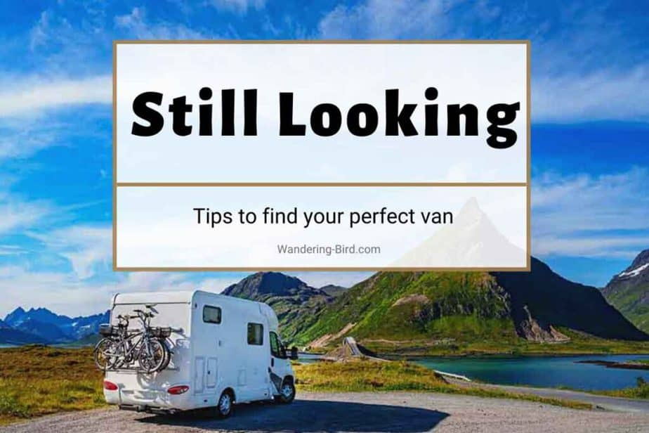 Still looking for your perfect motorhome
