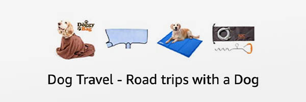Road trip & Motorhome accessories for travelling with a dog