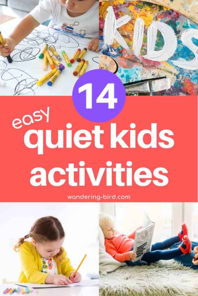 Need quiet time activities for older kids, tweens and teenagers? Looking for ideas for independent things they can do so YOU can get stuff done- or get 2 minutes to yourself!! These are perfect quiet activities for kids for any time of the day