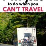 motorhome ideas, RV storage hacks, organization tips and useful jobs to do for your camper.