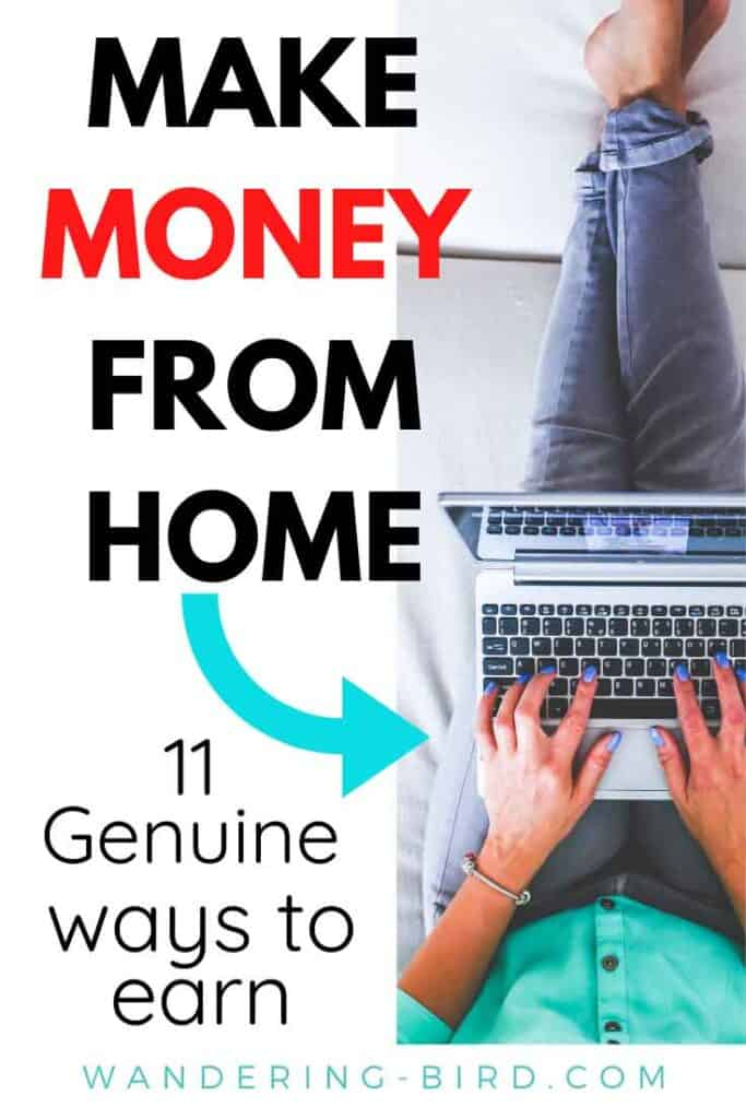 Need to make money from home? Looking for legit, genuine ways to earn some extra cash? Here are 11 of the best options to earn income at home- fast. These are the best ideas for people (and moms!) who need to make money at home.