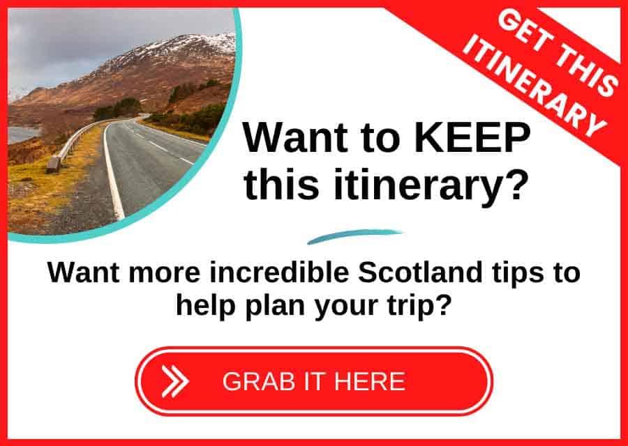 Écosse Planificateur de voyage