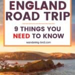 England travel & road trip tips- 9 things you need to know