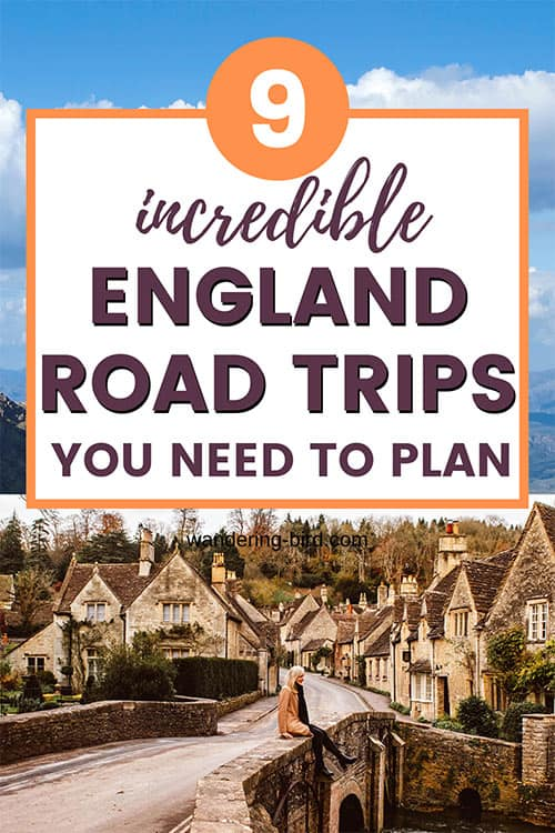 9 England road trip ideas and tips for England UK travel, including itinerary ideas and places to visit in England UK