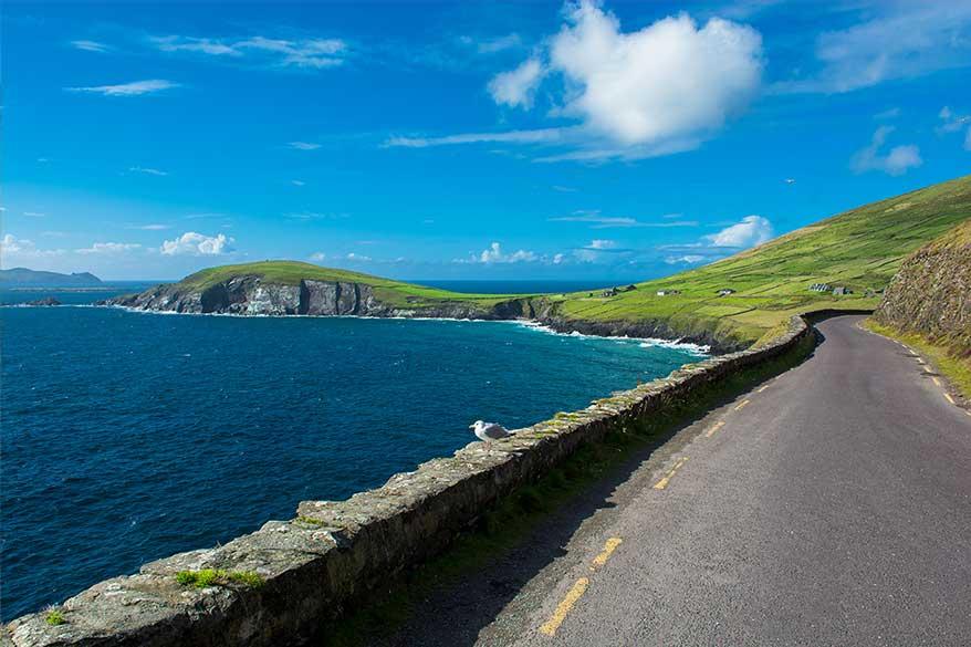 Idées d'itinéraire de voyage en Irlande - Slea Head et Dingle Peninsula. Irlande conseils de voyage