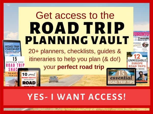 Road Trip Planner Vault
