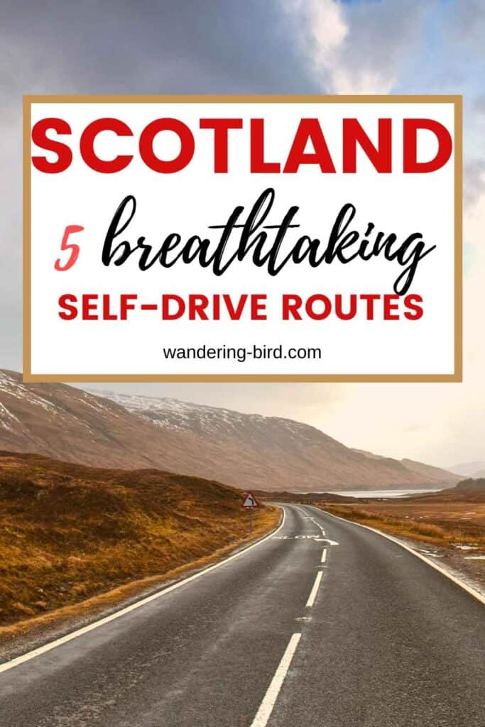SCOTLAND- scenic drives in Scotland and the best self-drive routes