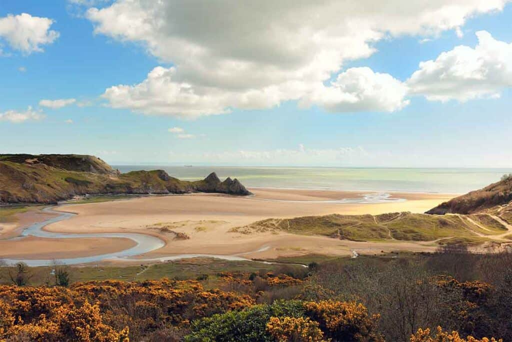 Gower Peninsula- Wales Road Trips- the best welsh road trip itineraries and ideas