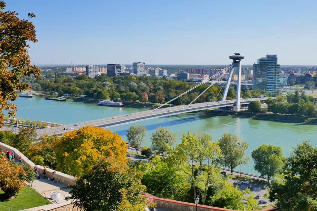 Bratislava, Slovakia- the perfect city to see Autumn in Europe