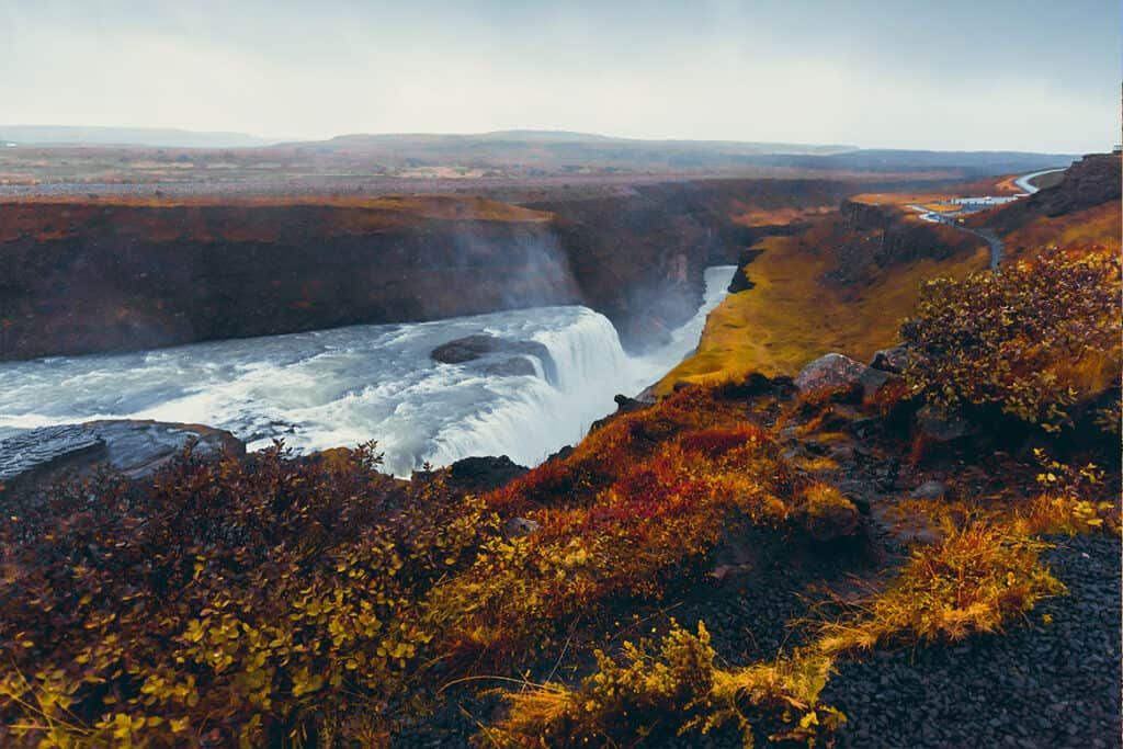 Iceland- one of the best Europe Autumn destinations for Autumn colours
