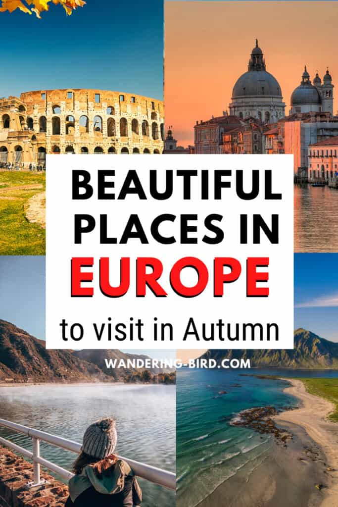 Beautiful places in Europe to visit in Autumn