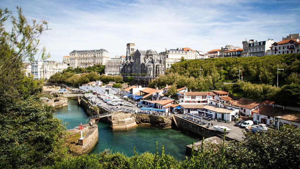 Biarritz- one of the top seaside cities in France