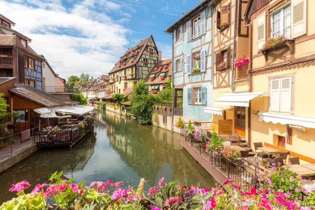 Colmar- one of the most beautiful cities in France