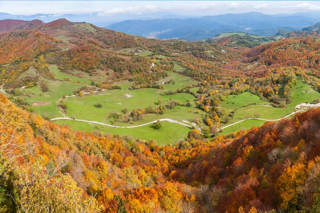 Garrotxa- Best Fall colors in Europe