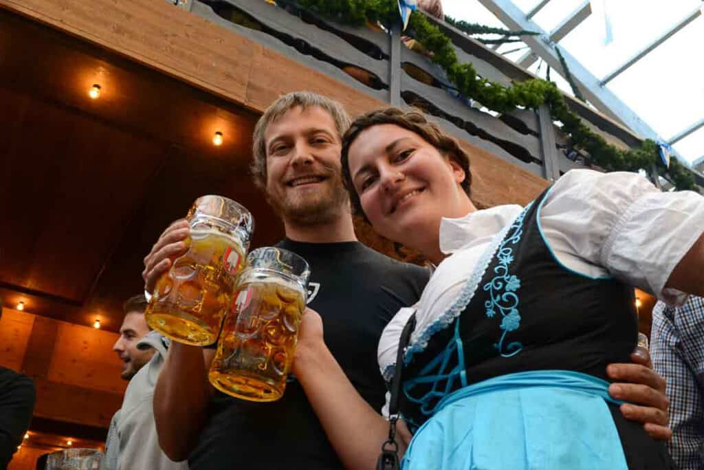 Oktoberfest- one of the best things to do in Europe in October