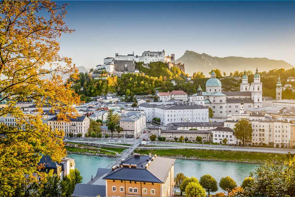 Salzburg- one of the Best autumn destinations in Europe