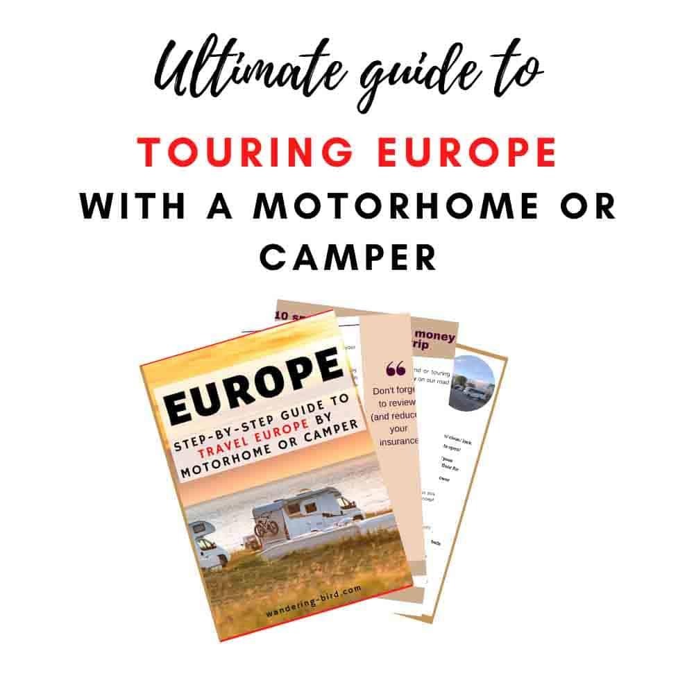 Europe Motorhome travel advice guide