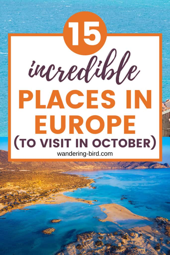 Europe in October- 15 of the best places to visit