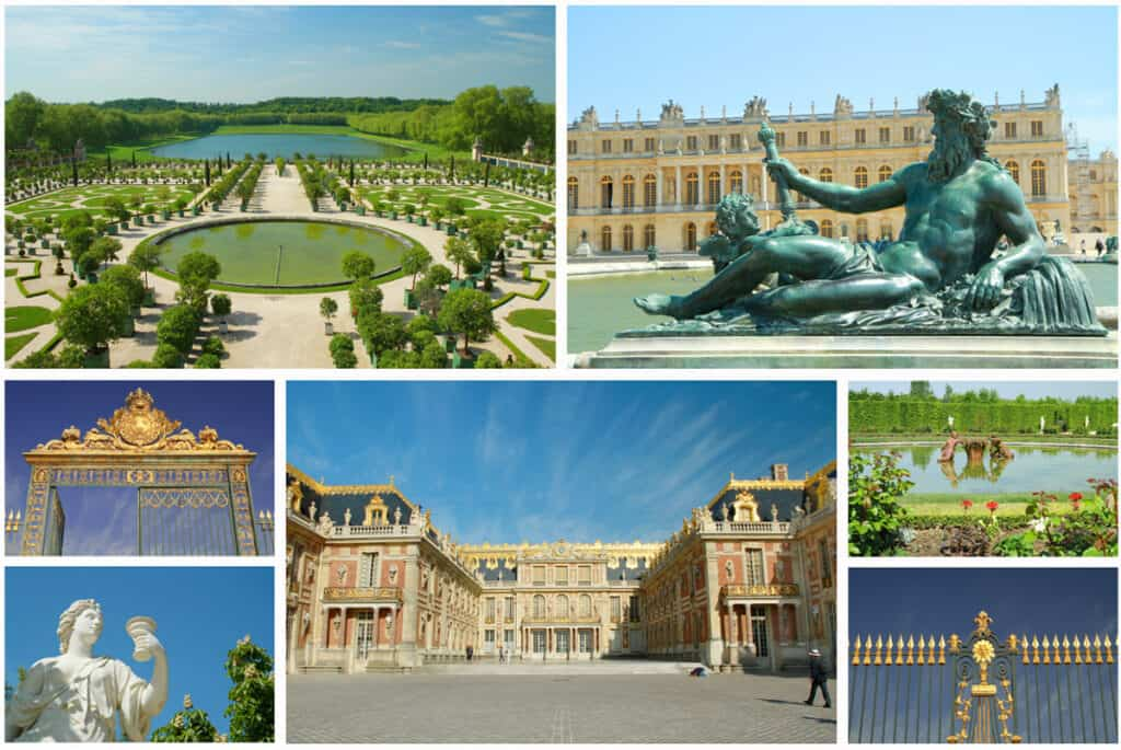 Palace of Versailles- one of the most historic places in France- historical site and palace in France