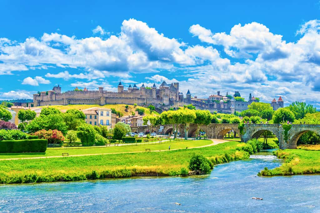 Carcassone- a beautiful and historic city in France