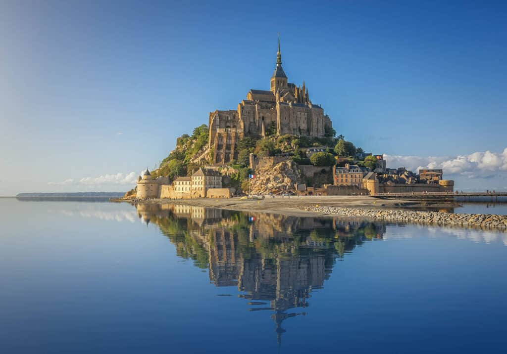 historical places in france and historical sites in France- Mont St Michel