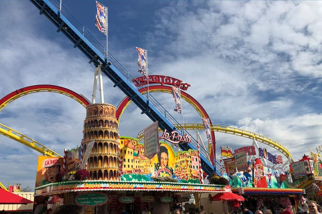Europe in October- Stuttgart- the world's second largest beer festival
