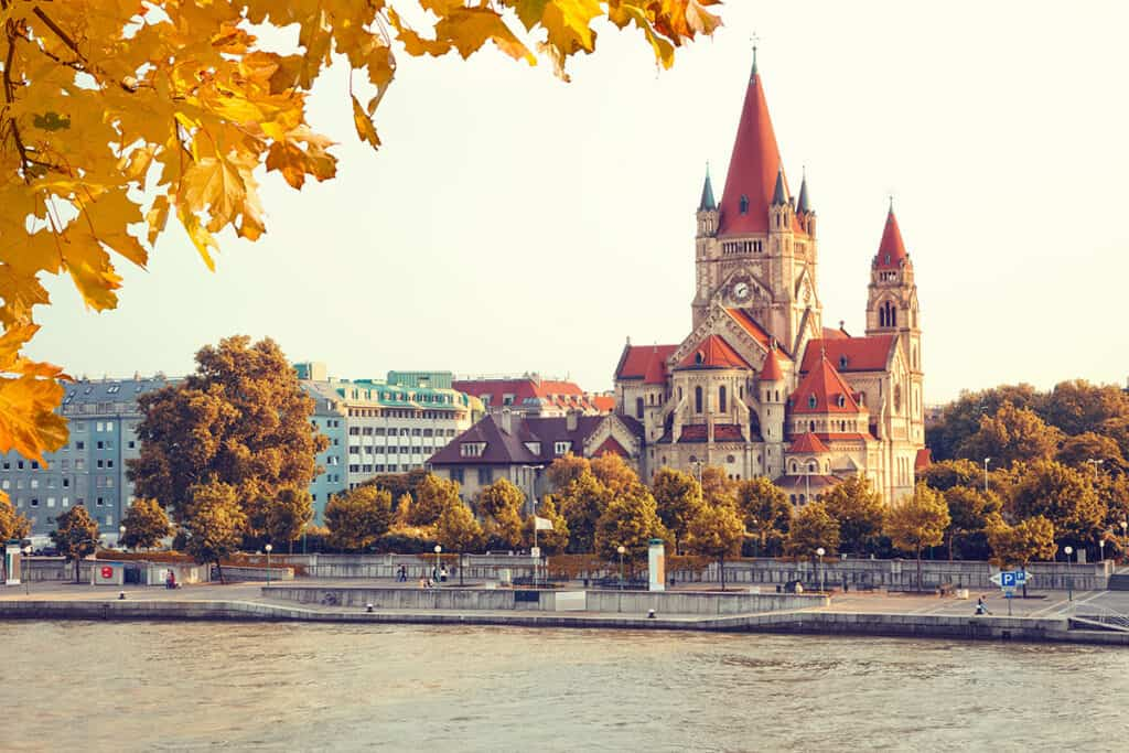 Europe in October- Vienna is one of the best cities to enjoy it.